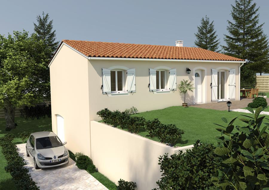 Maisons du constructeur TRADICONFORT 81 • 90 m² • VILLEFRANCHE D'ALBIGEOIS