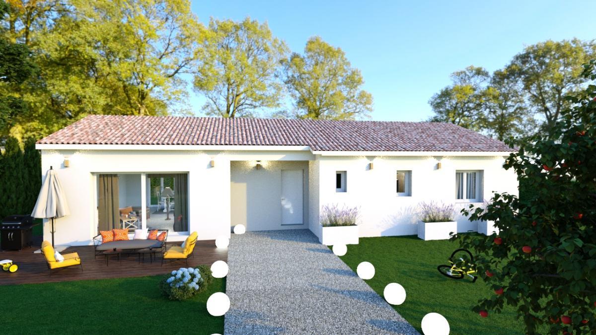 Terrains du constructeur TRADICONFORT 31 • 900 m² • MONTASTRUC LA CONSEILLERE