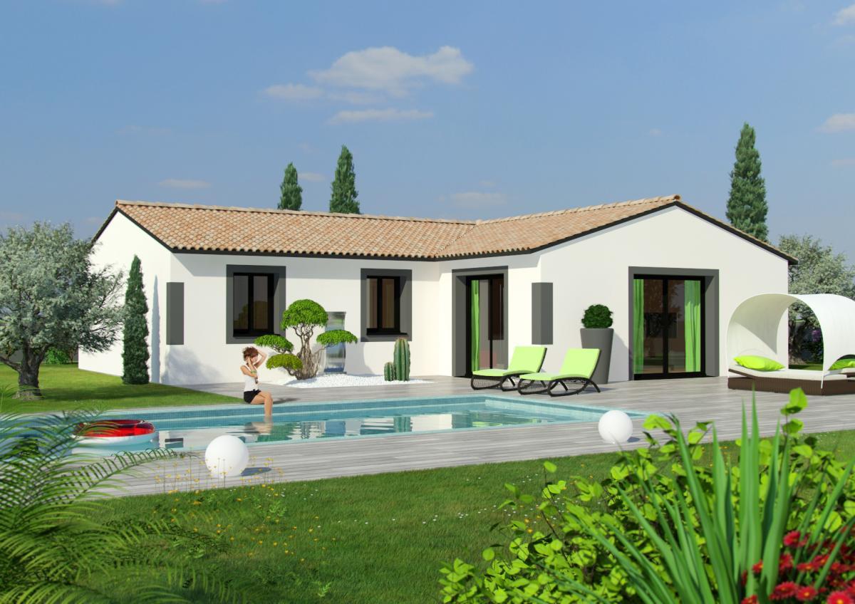 Maisons du constructeur TRADICONFORT 31 • 100 m² • LAGARDELLE SUR LEZE