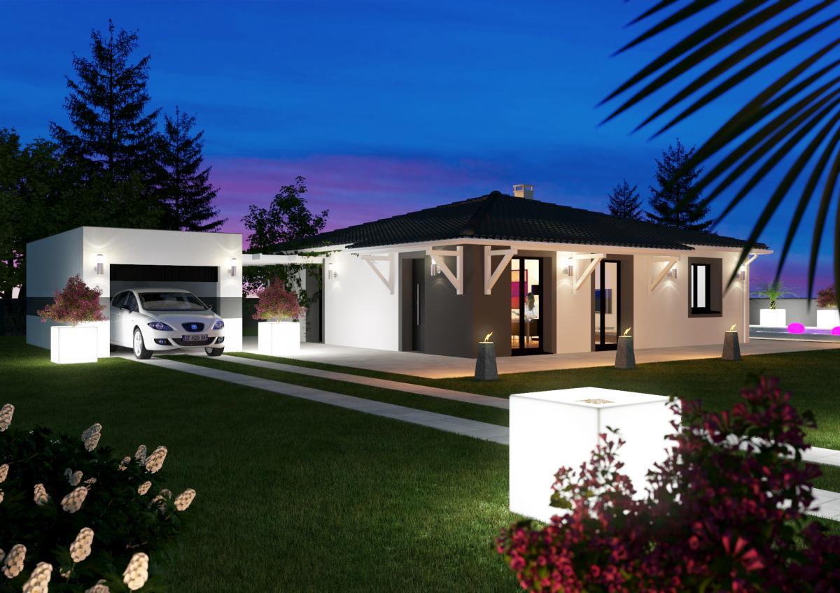 Maisons du constructeur TRADICONFORT 31 • 100 m² • LONGAGES