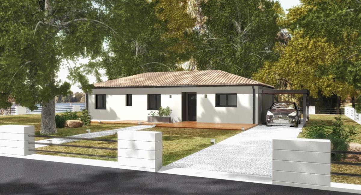 Maisons du constructeur TRADICONFORT 31 • 100 m² • NAILLOUX