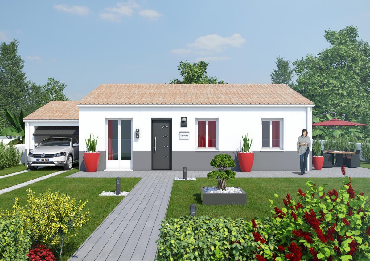 Maisons du constructeur TRADICONFORT 31 • 100 m² • PLAISANCE DU TOUCH