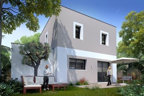 Maisons + Terrains du constructeur LES MAISONS.COM POISSY • 91 m² • BAZEMONT