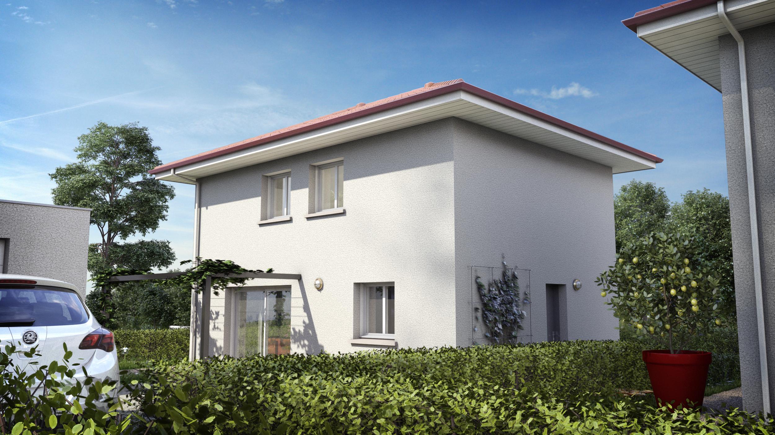 Maisons du constructeur LES MAISONS DE L ATELIER GROLL • 100 m² • FONTANIL CORNILLON