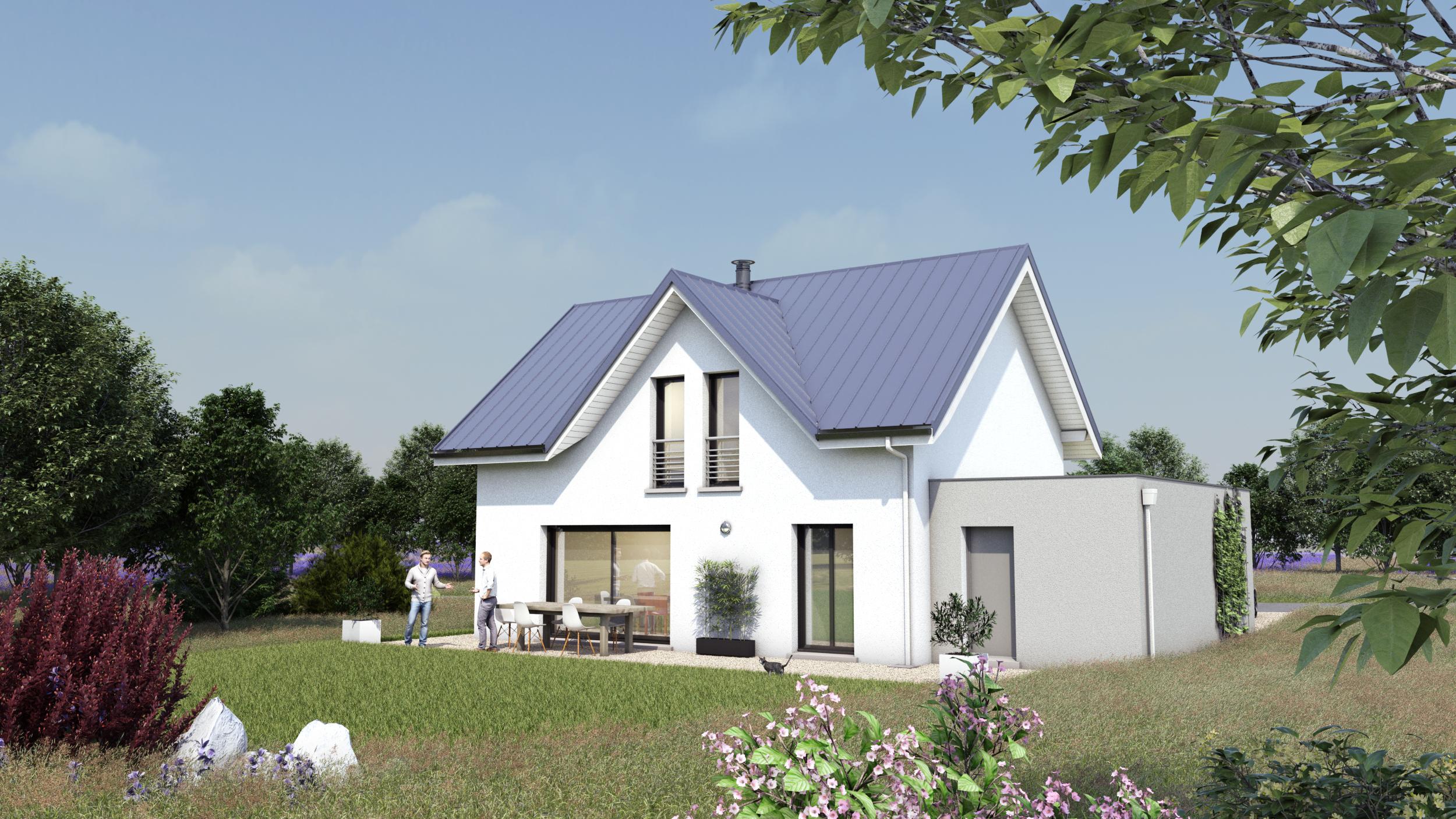 Maisons du constructeur LES MAISONS DE L ATELIER GROLL • 99 m² • LANS EN VERCORS