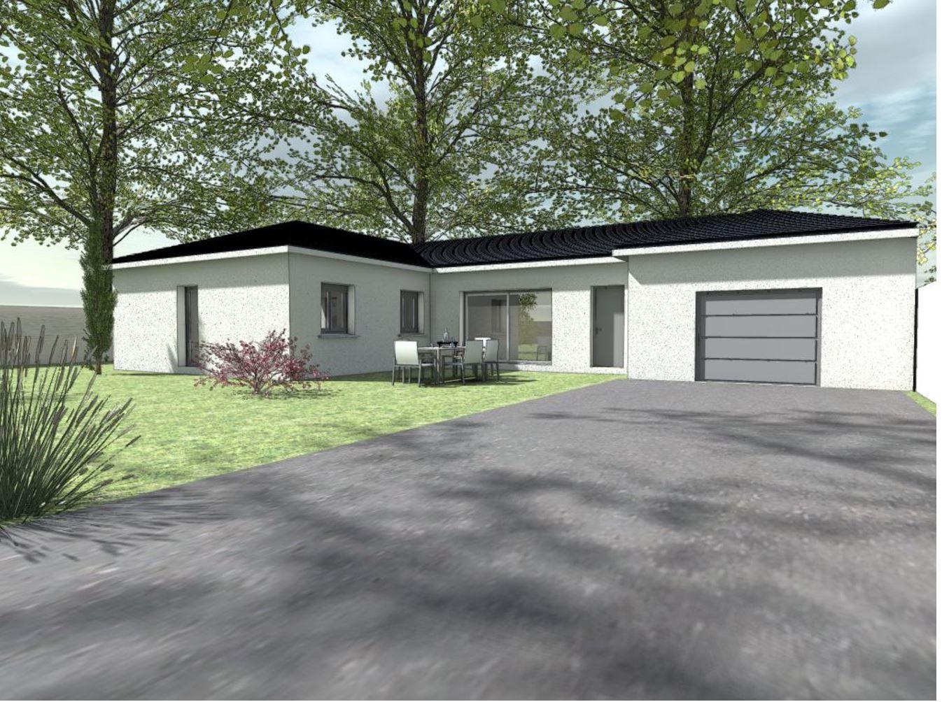 Maisons + Terrains du constructeur HABITAT SUD EST • 96 m² • CHOMERAC