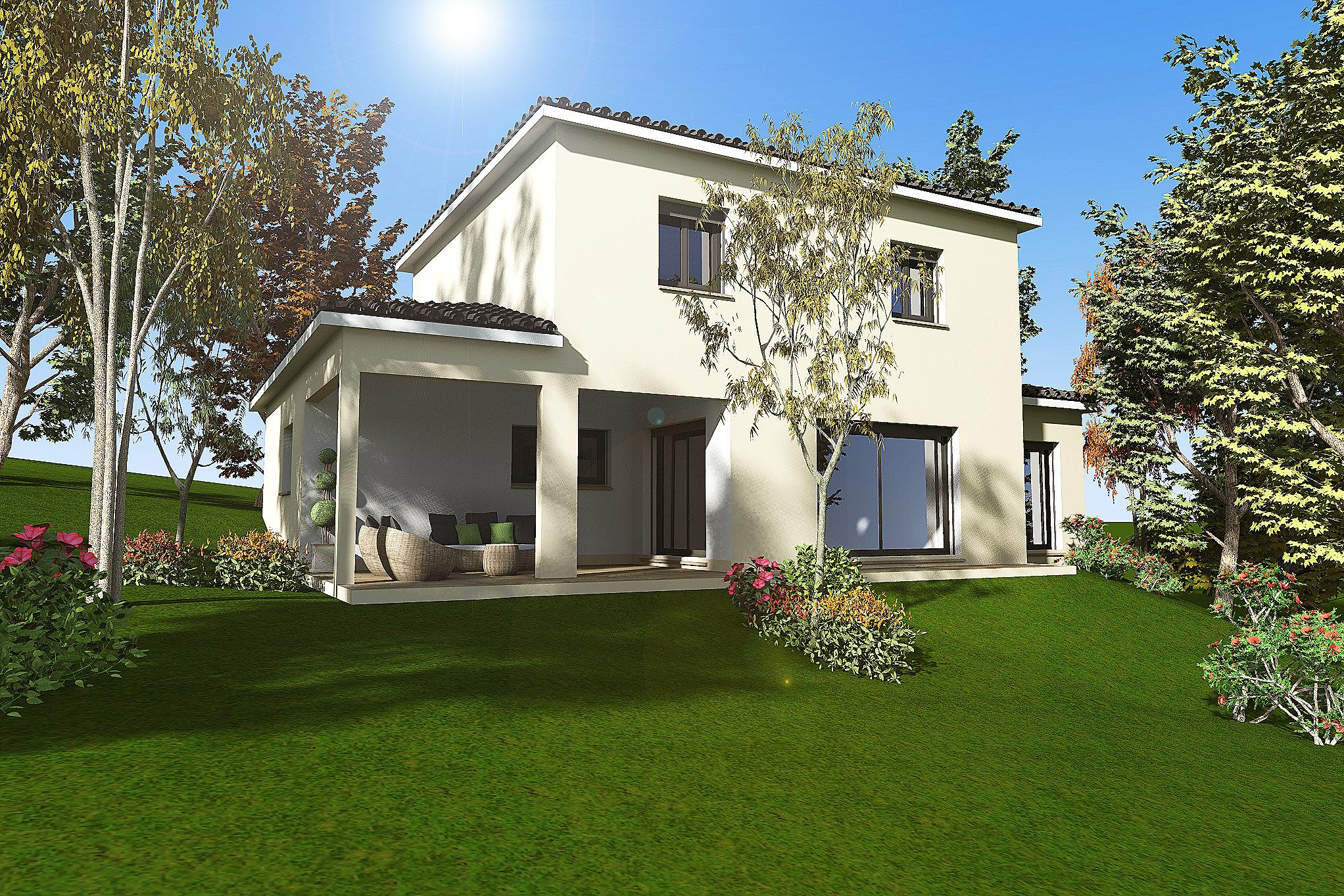 Maisons + Terrains du constructeur HABITAT SUD EST • 110 m² • BAIX