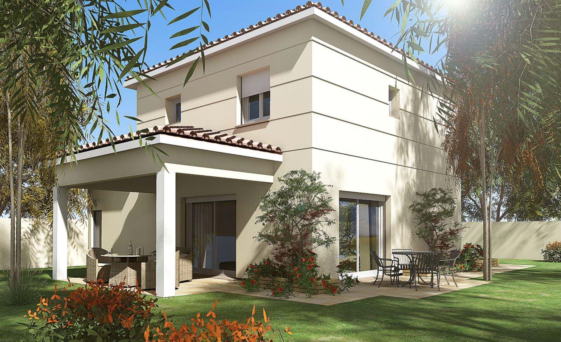 Maisons + Terrains du constructeur HABITAT SUD EST • 86 m² • SAINT SYMPHORIEN SOUS CHOMERAC