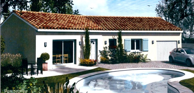 Maisons + Terrains du constructeur HABITAT SUD EST • 86 m² • MOURS SAINT EUSEBE