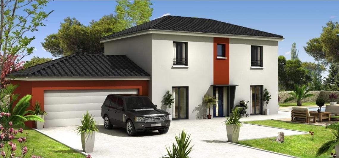 Maisons du constructeur ESQUISS 26 • 110 m² • ANDANCETTE