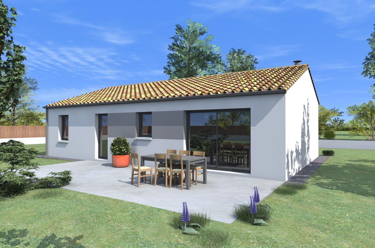 Maisons du constructeur ESQUISS 2607 • 110 m² • SAINT DONAT SUR L'HERBASSE