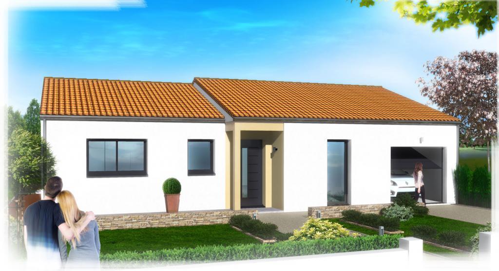 Maisons du constructeur ESQUISS 26 • 90 m² • SERVES SUR RHONE