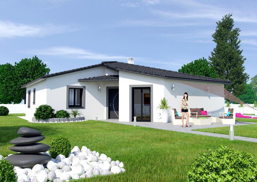 Maisons du constructeur ESQUISS 26 • 136 m² • SAINT DONAT SUR L'HERBASSE
