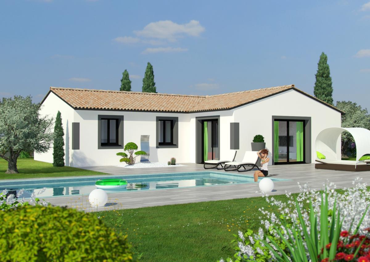 Maisons du constructeur ESQUISS 26 • 91 m² • SAINT BARTHELEMY DE VALS