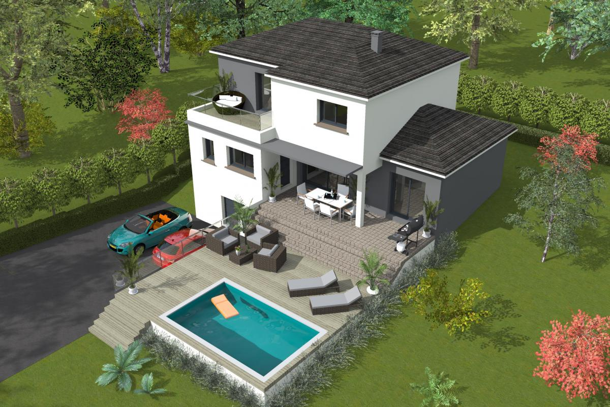 Maisons du constructeur ESQUISS 2607 • 133 m² • SAINT DONAT SUR L'HERBASSE