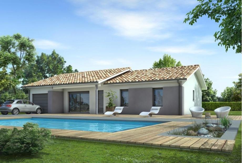 Maisons du constructeur ESQUISS 26 • 101 m² • SAINT MICHEL SUR SAVASSE