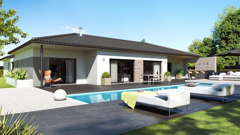 Maisons du constructeur ESQUISS 26 • 100 m² • BESAYES