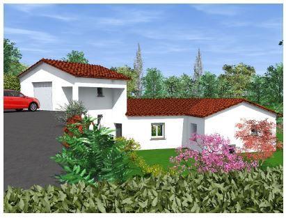 Maisons du constructeur ESQUISS 26 • 91 m² • MARGES