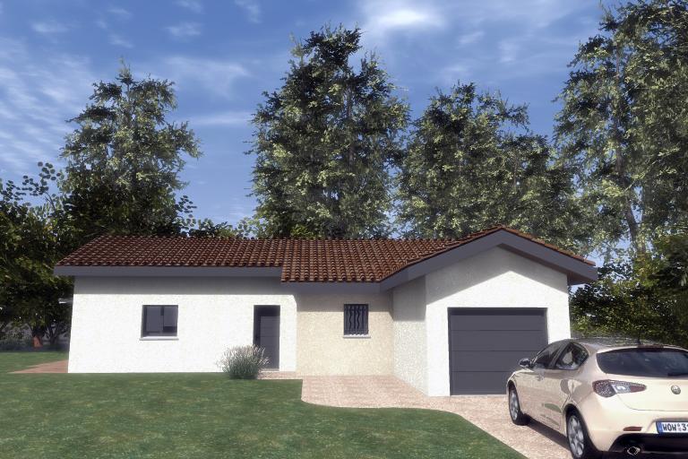 Maisons du constructeur ESQUISS 2607 • 111 m² • SAINT MICHEL SUR SAVASSE