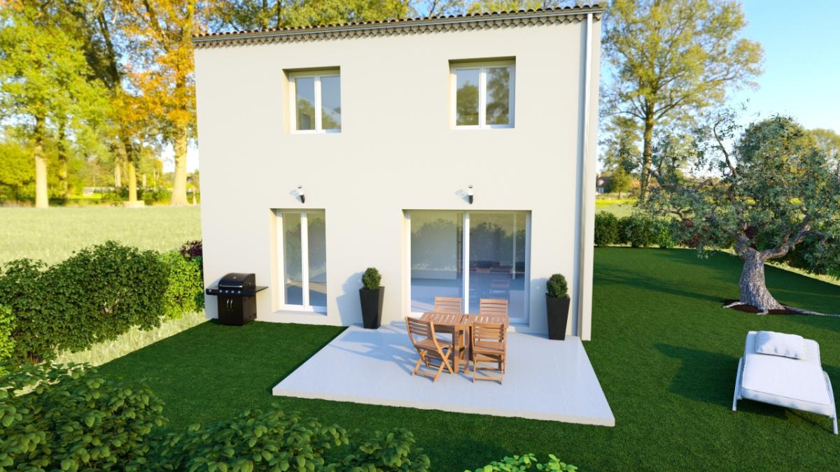 Maisons du constructeur ESQUISS 2607 • 85 m² • CLEON D'ANDRAN