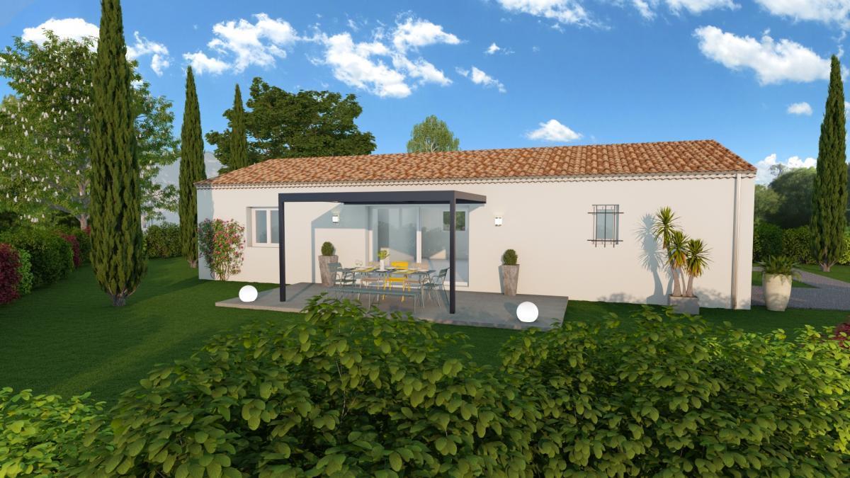 Maisons du constructeur ESQUISS 2607 • 87 m² • MONTBOUCHER SUR JABRON