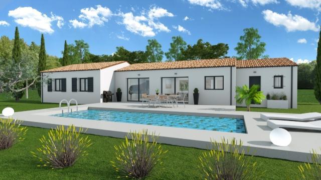 Maisons du constructeur ESQUISS 2607 • 105 m² • MONTELIMAR