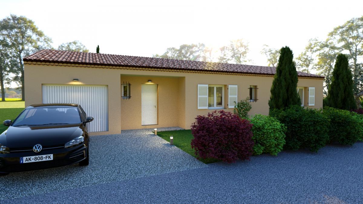Maisons du constructeur ESQUISS 2607 • 91 m² • ALLAN