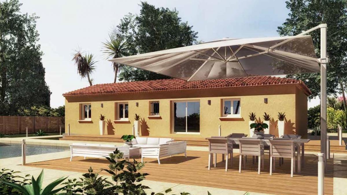 Maisons du constructeur ESQUISS 2607 • 83 m² • LA COUCOURDE