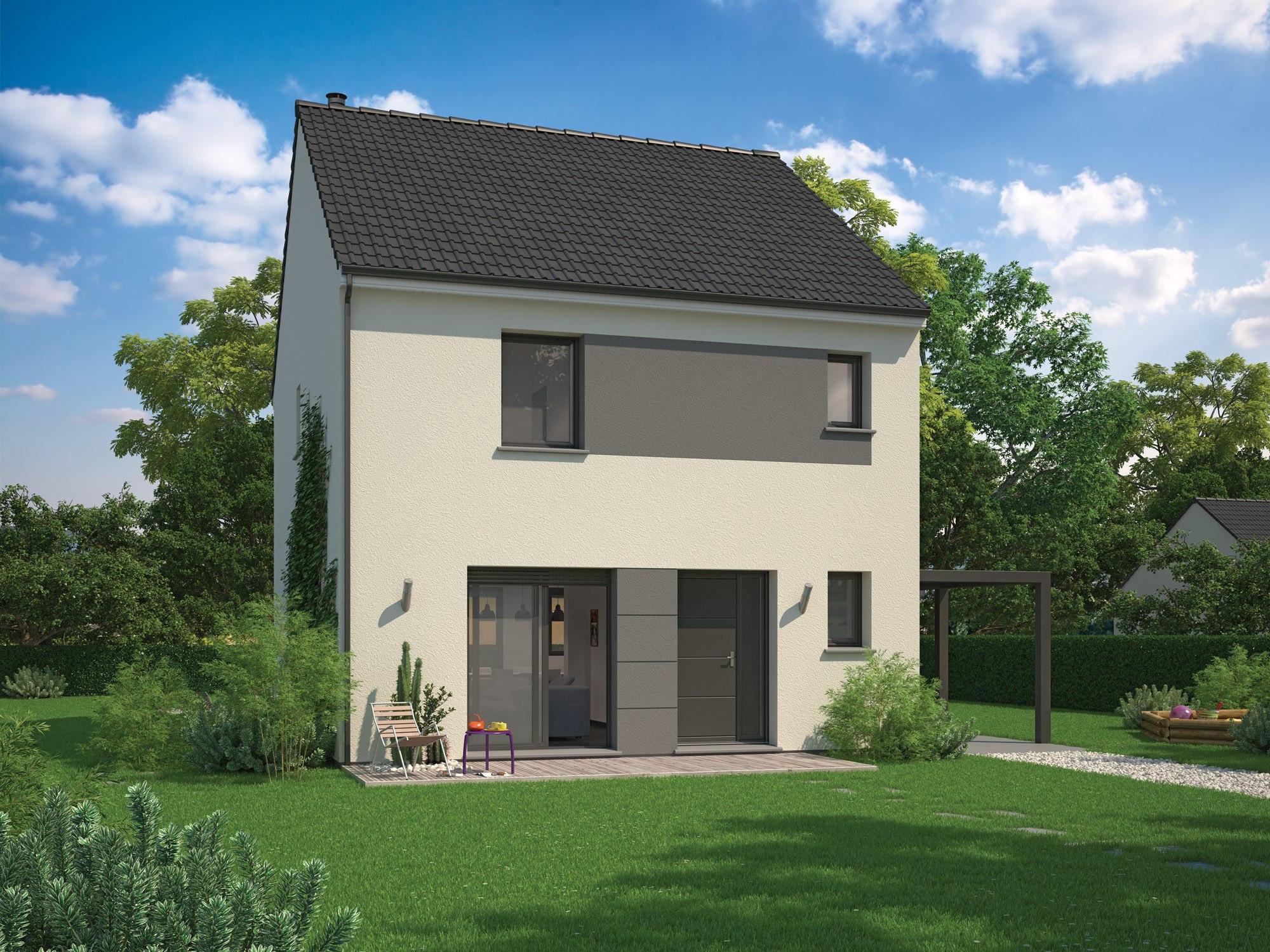 Maisons + Terrains du constructeur MAISON FAMILIALE • 102 m² • AULNAY SOUS BOIS