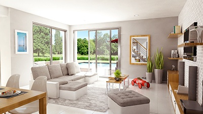Maisons + Terrains du constructeur MAISON FAMILIALE • 104 m² • CLICHY SOUS BOIS