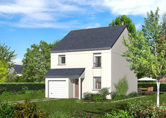 Maisons + Terrains du constructeur MAISON FAMILIALE • 85 m² • VAUJOURS
