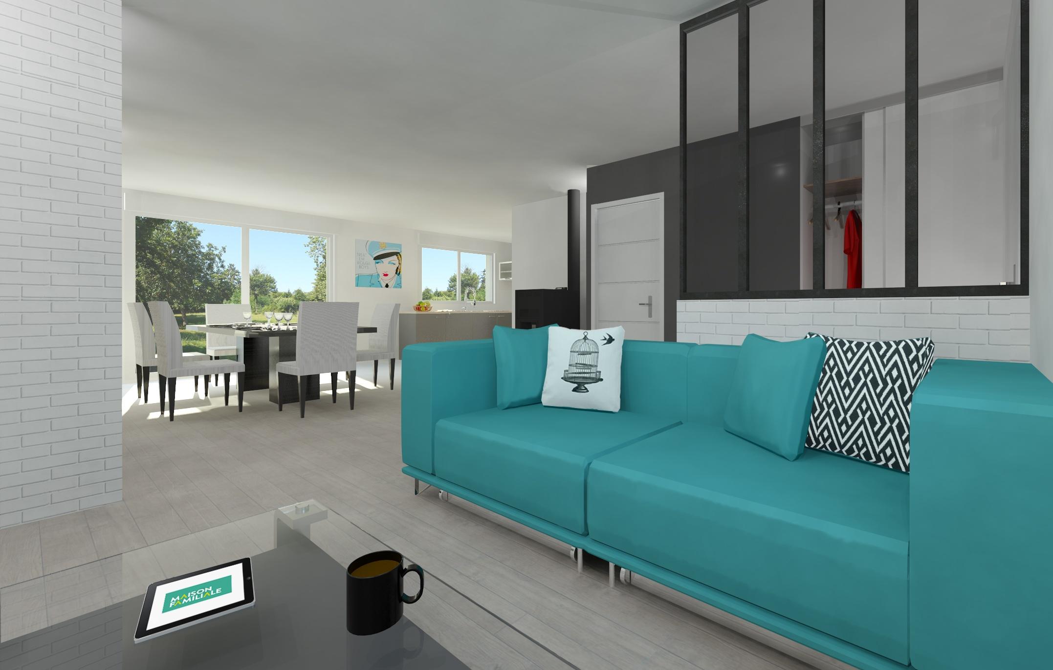 Maisons + Terrains du constructeur MAISON FAMILIALE • 81 m² • REBAIS
