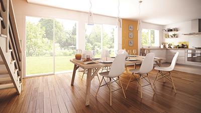 Maisons + Terrains du constructeur MAISON FAMILIALE • 100 m² • SAINT JEAN LES DEUX JUMEAUX