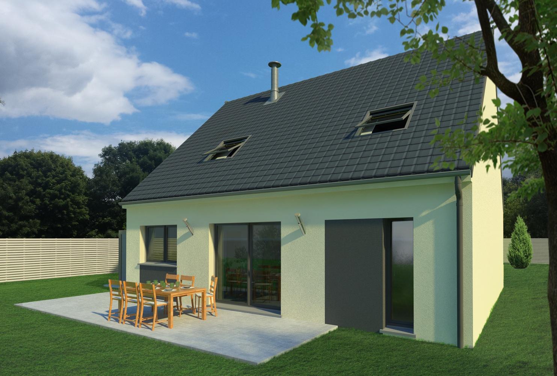 Maisons + Terrains du constructeur MAISON FAMILIALE • 125 m² • VULAINES SUR SEINE