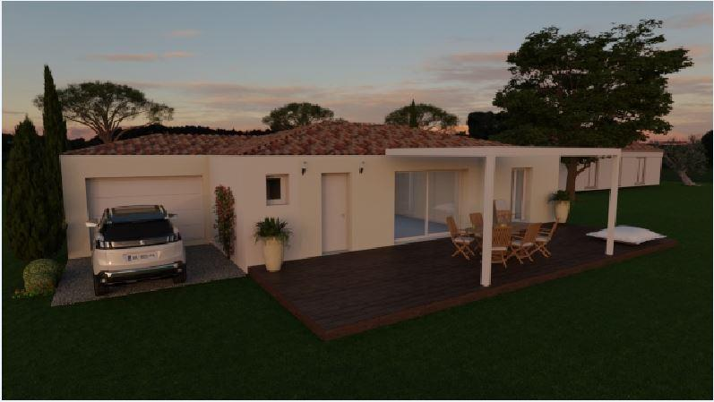 Maisons du constructeur MAISONS COTE SOLEIL SUD EST • 86 m² • PIOLENC