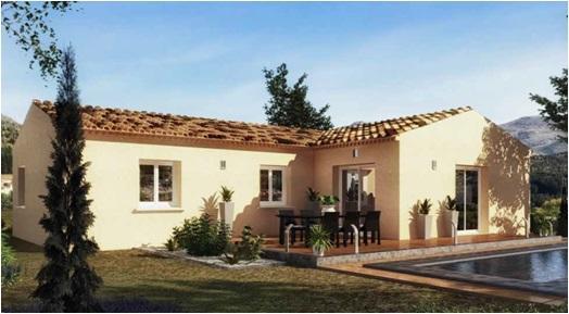 Maisons du constructeur MAISONS COTE SOLEIL SUD EST • 86 m² • UCHAUX
