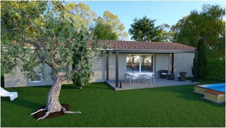 Maisons du constructeur MAISONS COTE SOLEIL SUD EST • 91 m² • ENTRECHAUX