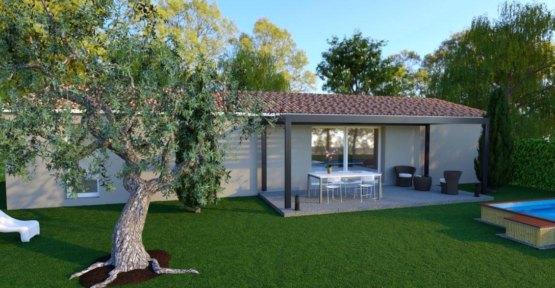 Maisons du constructeur MAISONS COTE SOLEIL SUD EST • 91 m² • CAMARET SUR AIGUES