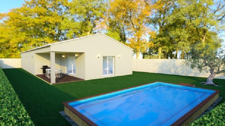 Maisons du constructeur MAISONS COTE SOLEIL SUD EST • 81 m² • CHATEAUNEUF DE GADAGNE