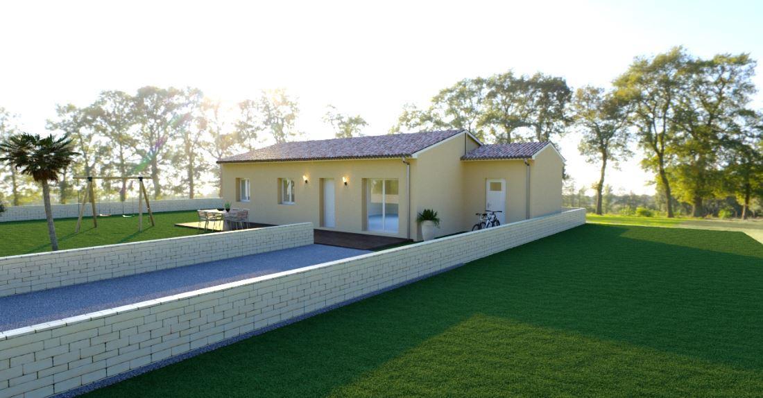 Maisons du constructeur MAISONS COTE SOLEIL SUD EST • 101 m² • JONQUIERES