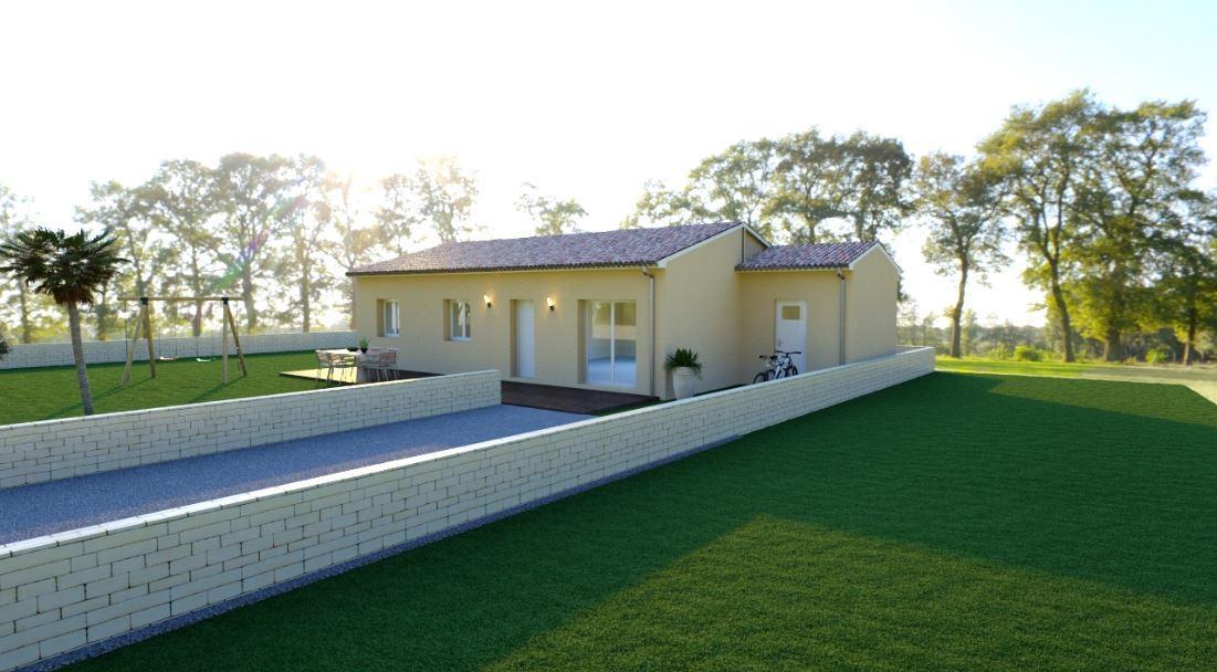 Maisons du constructeur MAISONS COTE SOLEIL SUD EST • 86 m² • BOLLENE