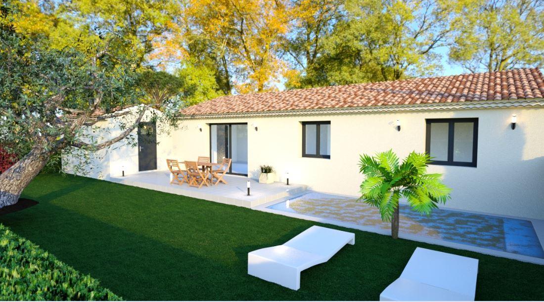 Maisons du constructeur MAISONS COTE SOLEIL SUD EST • 86 m² • CAMARET SUR AIGUES