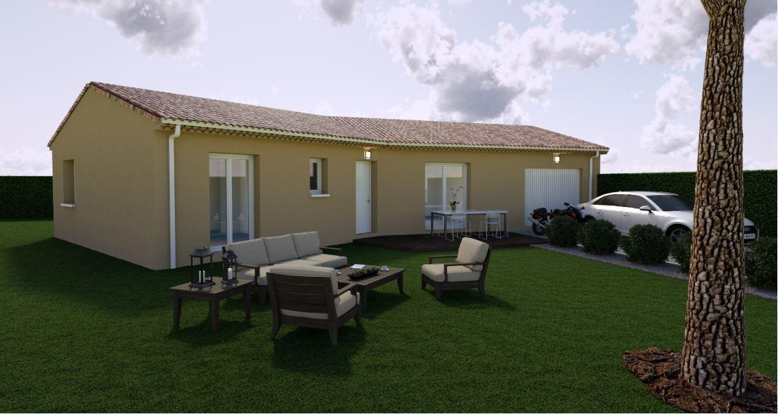 Maisons du constructeur MAISONS COTE SOLEIL SUD EST • 90 m² • BOLLENE