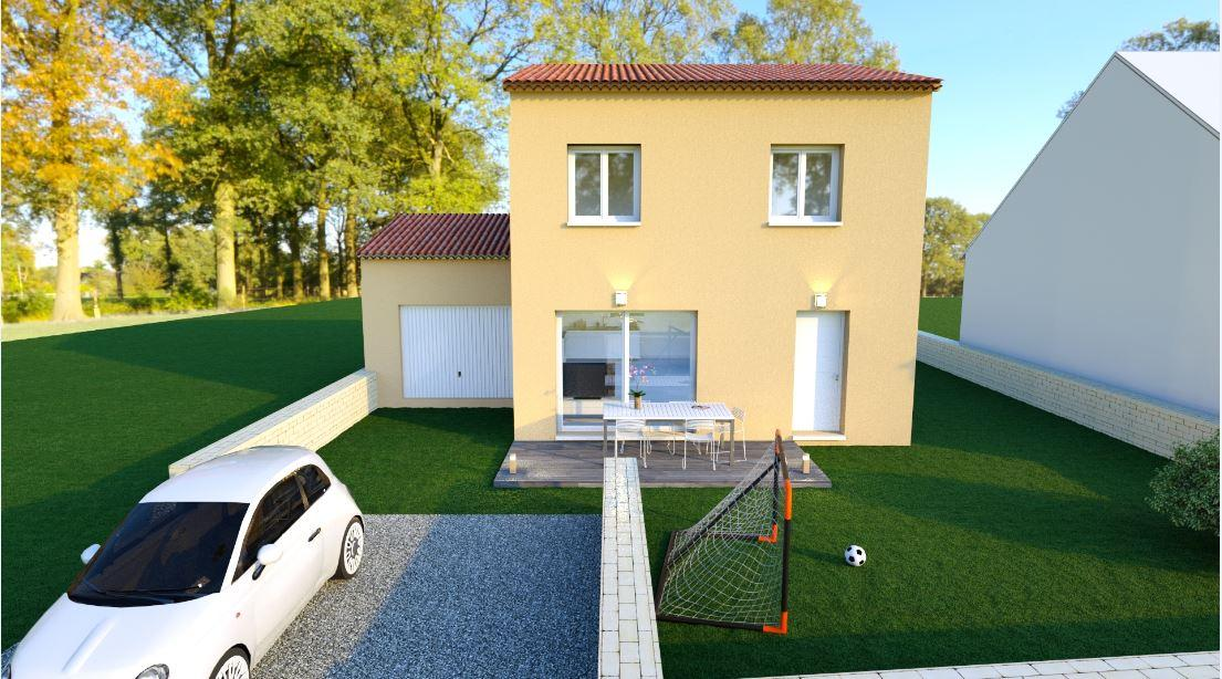 Maisons du constructeur MAISONS COTE SOLEIL SUD EST • 81 m² • COURTHEZON