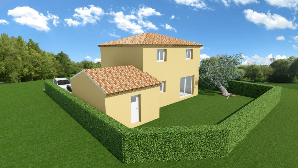 Maisons du constructeur TRADICONFORT SUD EST • 86 m² • PERNES LES FONTAINES