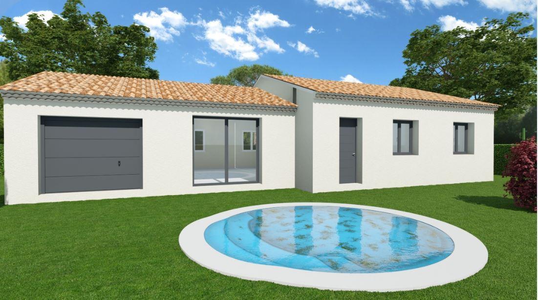 Maisons du constructeur TRADICONFORT SUD EST • 91 m² • CARPENTRAS