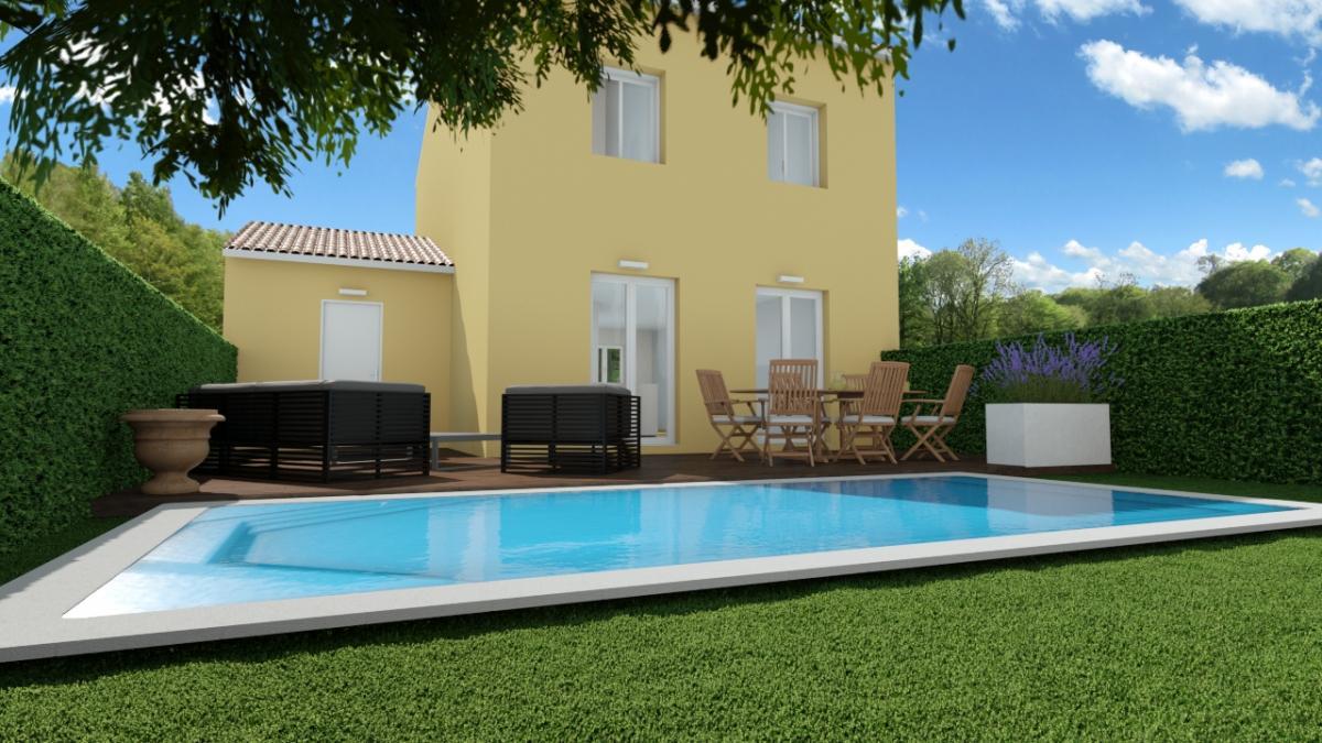 Maisons du constructeur TRADICONFORT SUD EST • 81 m² • CARPENTRAS