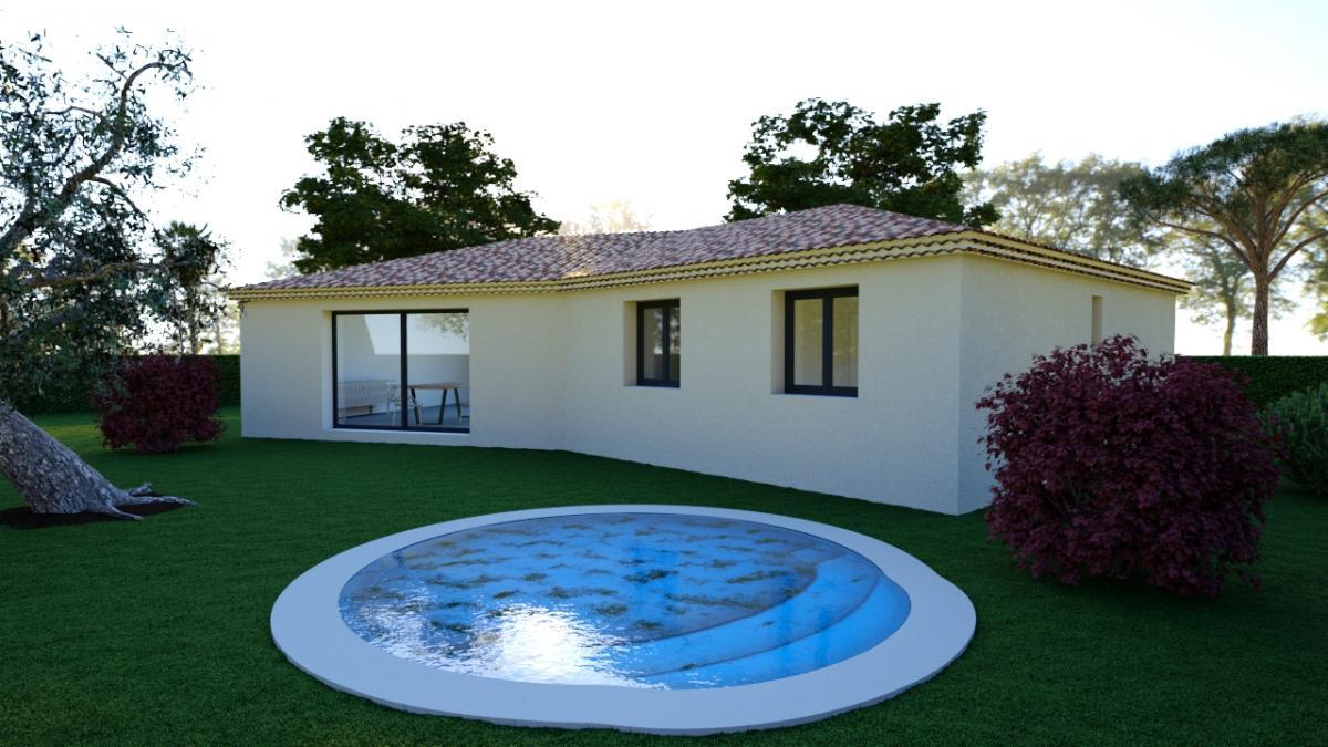 Maisons du constructeur TRADICONFORT SUD EST • 91 m² • MONTEUX