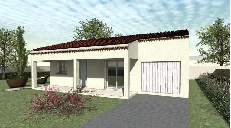 Maisons du constructeur TRADICONFORT SUD EST • 86 m² • BEDARRIDES