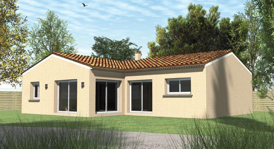 Maisons du constructeur TRADICONFORT SUD EST • 81 m² • MONDRAGON